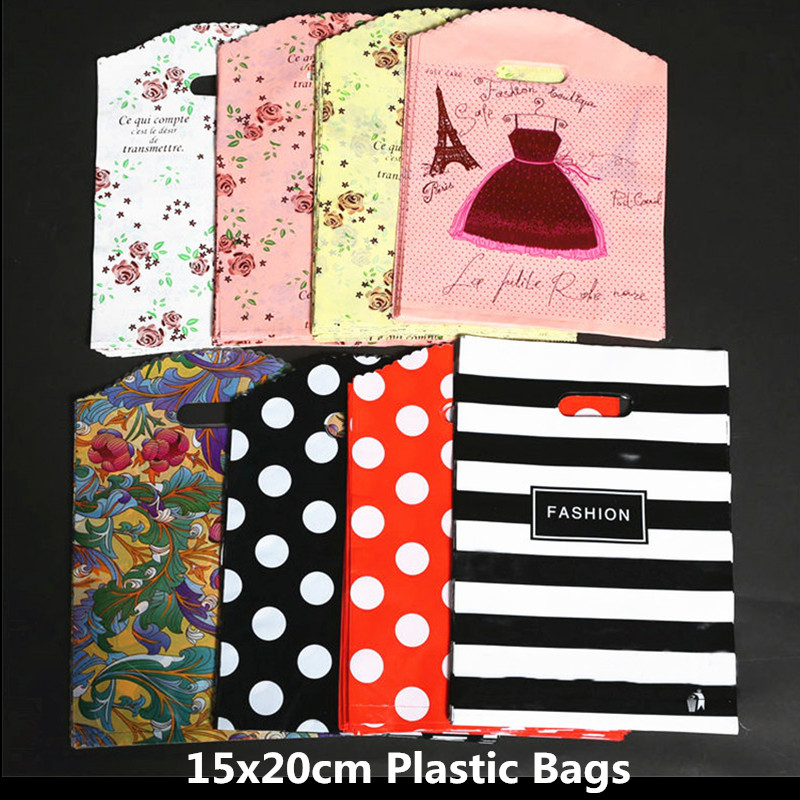 10pcs 15x20cm Storage Cloth Bag White Packaging Bag Party Wedding Decoration Marriage Gift Pouch Bags Party Supplies Plastic Bag