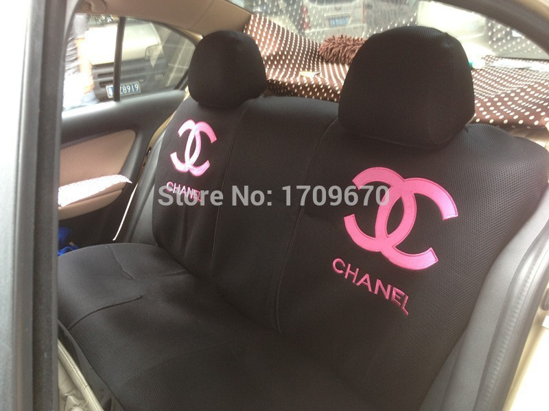 18 Parts Set Black Channel Car Seat Covers Accessories Interior Universal For Most 5 Not Leather Seats Pillow So On In Automobiles