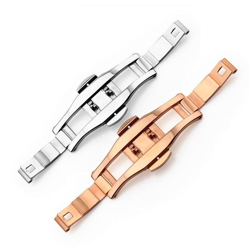 Bracelet en acier inoxydable boucle pour AR montre en cramique boucle fit L2 L4 L6 sangle boucle papillon fermoir 6*23mm 6*21mm
