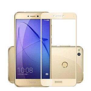 Image 4 - Honor 8 Lite Glass Huawei P8 lite 2017 Tempered Glass Huawei Honor 8x 8 lite Screen Protector Full Cover Film P Smart Plus 10 X