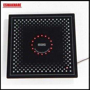 Checkpoint security tag deactivator eas label deactivator RF8.2Mhz met geluid en licht alarm 1 set label decodering machine