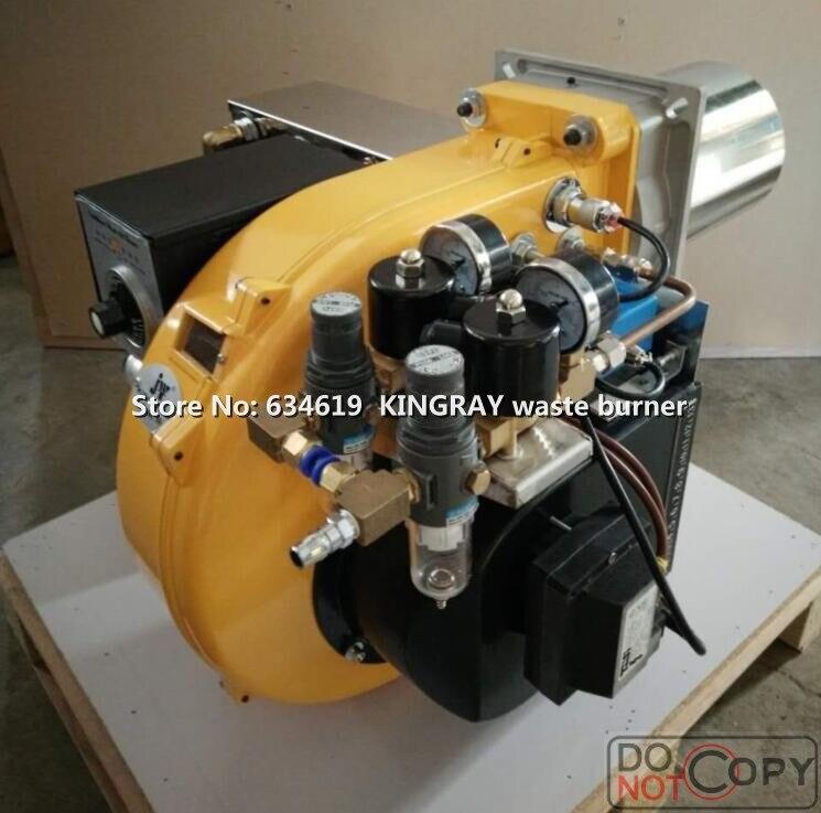460kw два огня этап паркипятильный отработанного масла горелки Мега мощность используется масляный обогреватель используется для приготовл