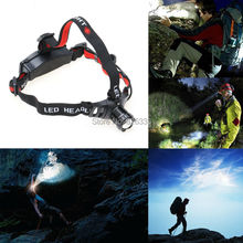 Headlamp Waterproof  Flashlight 3 Modes Brightness LED 18650 AAA Headlight Torch Head Lamp  for Outdoor