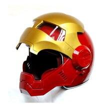 Masei Red Atomic-Man 610 cascos para moto capacete motoqueiro Open Face Motorcycle Helmet Free Shipping for Harley Davidson