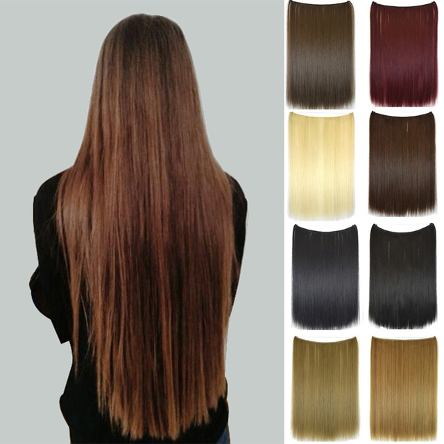 clip in hair extensions 27inch 68cm 120 200g 5clips long straight