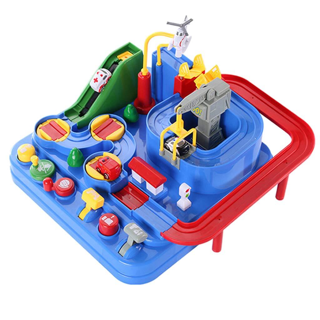 Bricolage Assemblé Avions De Voiture Piste Parking kit de maquette Jeu L'apprentissage des Sciences jouets éducatifs cadeau d'anniversaire pour Enfants Enfants