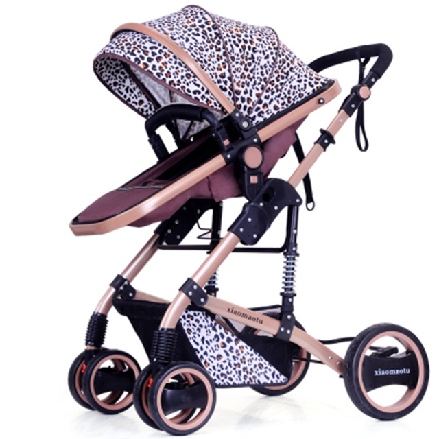 Free shipping Russia Luxury newborn baby stroller High view can sit to lie down baby prams bebek arabasi children baby carriage