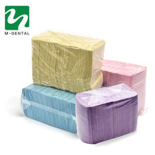 125pcs/Bag Dentist Oral Hygiene Medical Paper Scarf Tattoo Bib Disposable Water-resistant Scarf Neckerchief Dental Material