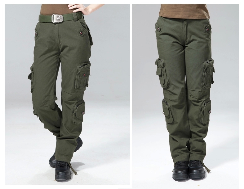 Military army pants outdoor multi-pocket trousers overalls tactical couple overalls G1011 army pants