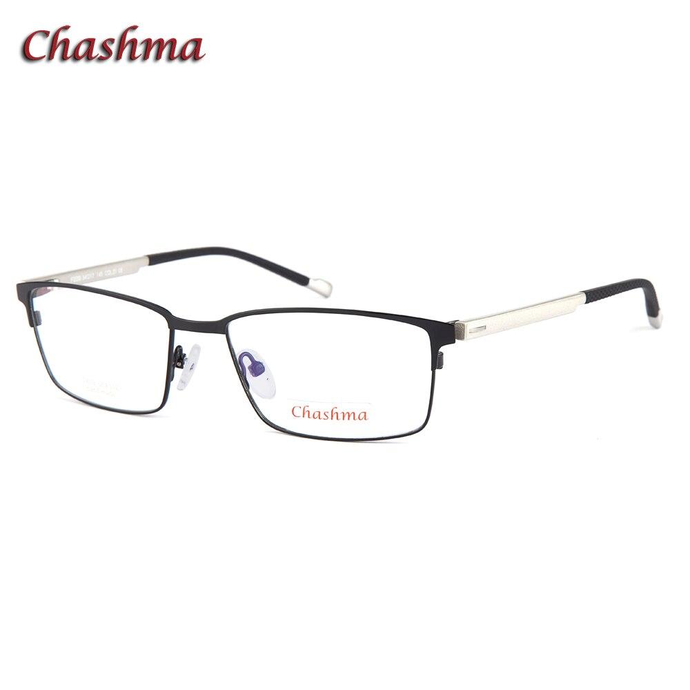 Chashma cadre pour hommes Designer lunettes optiques lunettes cadre pour lentilles de Prescription plein cadre de haute qualité