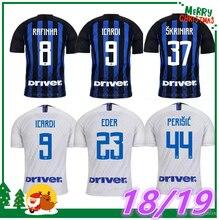 b2b2d6130 JUNBIE AAA Inter milan Home away soccer jersey season 2018 /2019 ICARDI  PERISIC