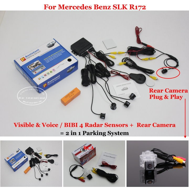 Mercedes Benz SLK R172 parking system