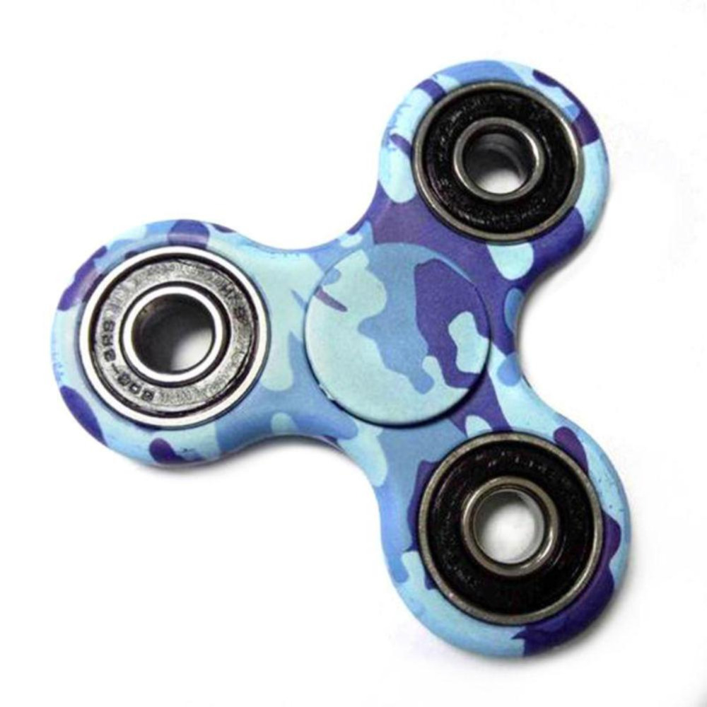 Camouflage Spinner Fidget EDC ABS Hand Spinner Desk Toys Focus Keep Educational Toys Relief Anxiety Stress Gift Toys Hot