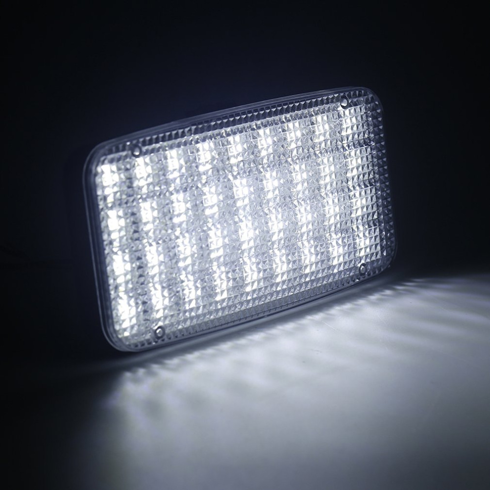 Professional DC 12V 36 LED Car Truck Vehicle Auto Dome Roof Ceiling Interior Light Lamp with Low Power Consumption Drop Shipping autoleader 24 led roof ceiling interior reading dome light for camper car rv boat trailer 12v porch light rectangle clear amber