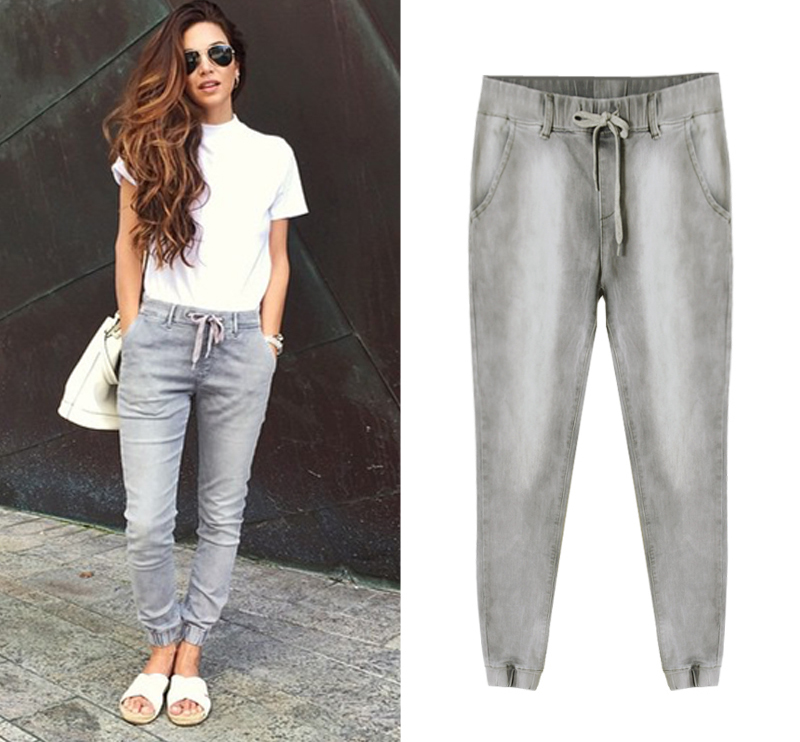 info for Official Website attractive style Fashion Joggers Women Loose Jogger Pants Jeans Hip Hop ...