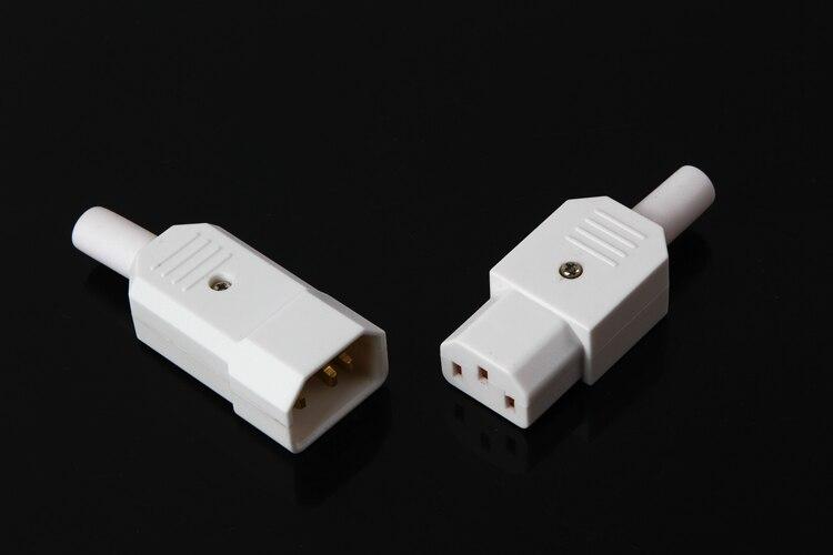 -Pureza de cobre AC palabra macho a conector macho y hembra de alimentación de la computadora macho N1