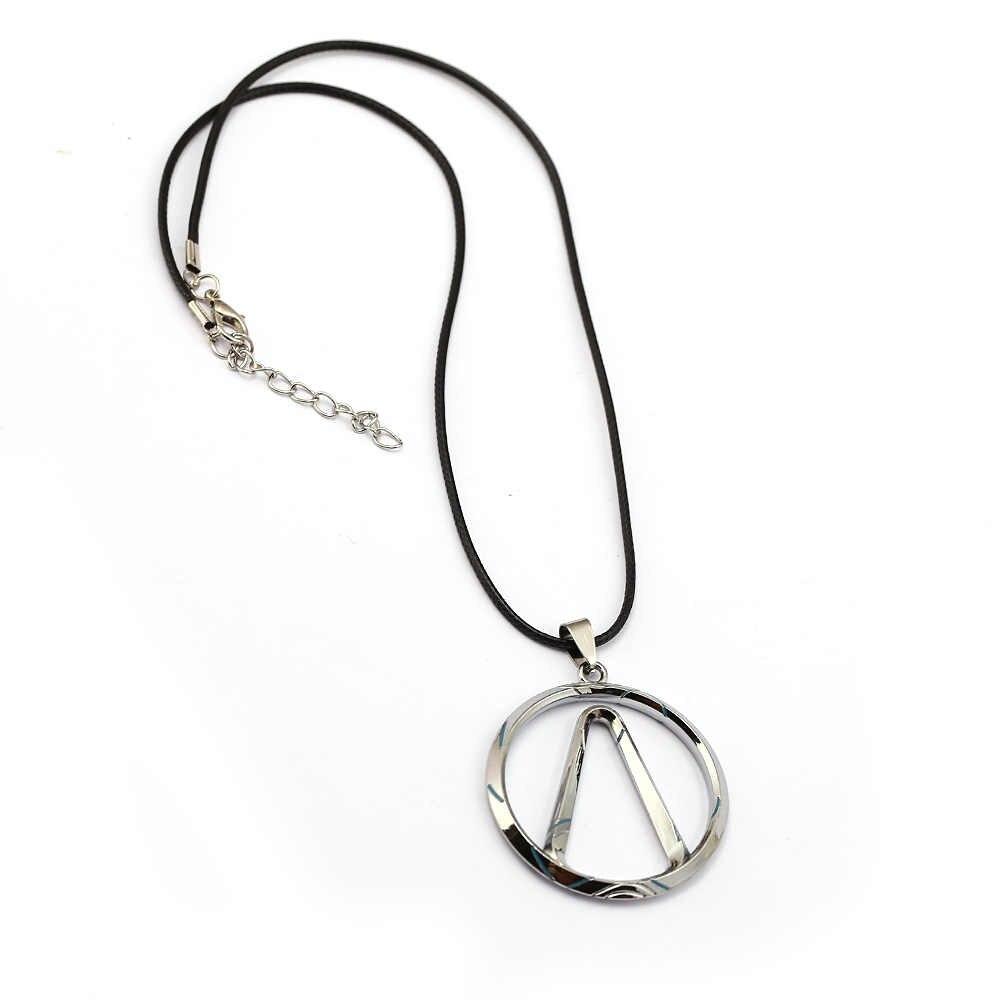 Игра пограничные брелки ожерелье кулон металлический чокер на веревке и цепочке брелок детский подарок ювелирные изделия