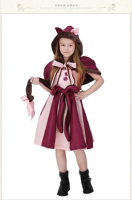 804545818a609d R$ 110.27 8% de desconto|Aliexpress.com: Compre Crianças Meninas Fantasia  Vestido de Alice No País Das Maravilhas Trajes Do Natal Outfit Meninas ...