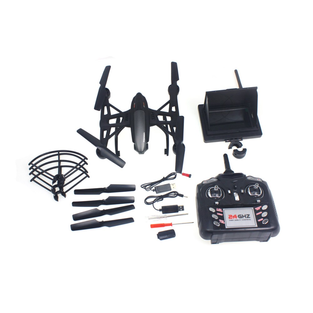 F16324 JXD 509G 5.8G FPV One-Key-return & Take Off Barometer Set High RC Quadcopter with HD Monitor RTF cheerson cx 33w cx33w one key return