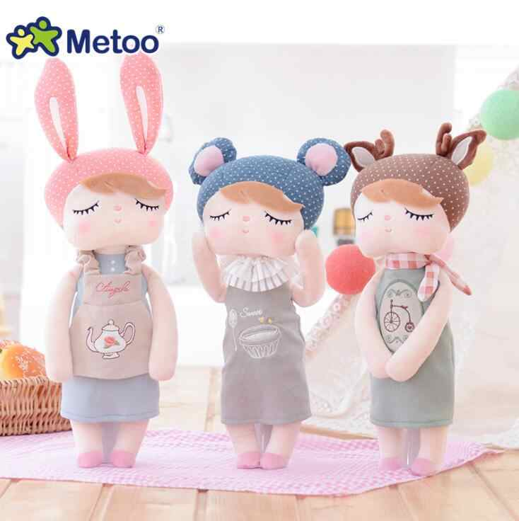 43 см/36 см Metoo Angela восстанавливающая древняя одежда мягкие игрушки для сна Детская кукла плюшевые игрушки для девочек Рождественский подарок на день рождения