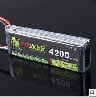 Lion Power 11 1V 4200MAH 30C MAX 45C AKKU LiPo RC Battery For Trex 500 Helicopter