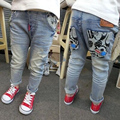 Sale New 2016 Spring for Baby/Girls/Boys Cartoons leisure wild pants children jeans