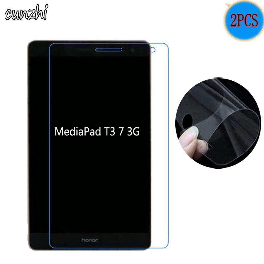 Ясно Мягкий ультра тонкий экран протекторы для huawei MediaPad T3 7 3g BG2-U01 7,0 планшет защитная пленка