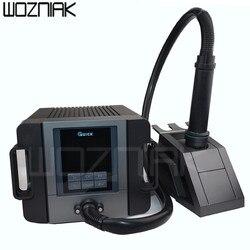 Quick TR1300A inteligentna stacja lutownicza na gorące powietrze naprawa telefonu komórkowego gorąca wiatrówka spawanie rozbiórkowe 1300W touch control|Zestawy elektronarzędzi|Narzędzia -