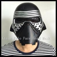 New Kylo ren Mask Movie Face Mask Roleplay Star Wars The Force Awakens Darth Vader Helmets Stormtrooper Helmet Halloween cosplay