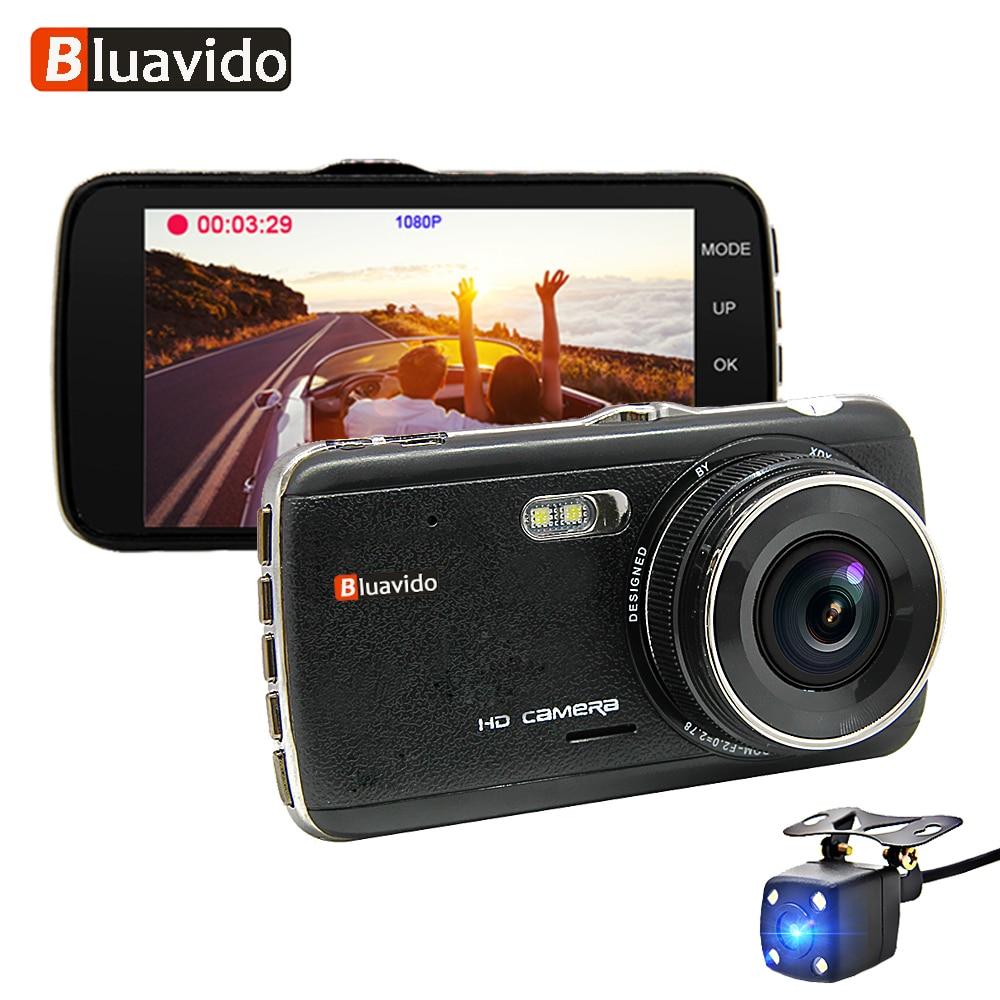 Bluavido DVR Car-Dash-Camera Auto-Video-Recorder G-Sensor Dual-Lens Parking-Mode Night-Vision