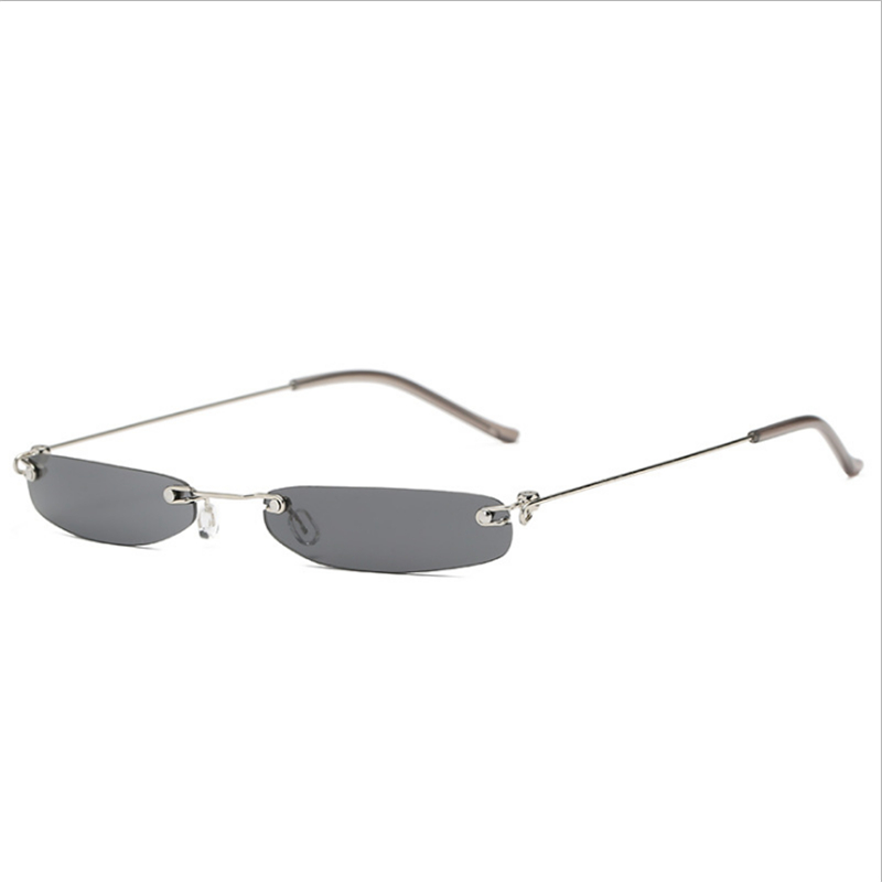 accd34b5c27 Detail Feedback Questions about Mincl Sexy exquisite square small box  ladies sunglasses cool frameless men s trend sunglasses fashion marine film  glasses ...
