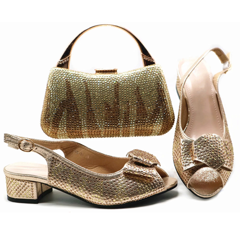 Et Italiennes La Sac Strass Chaussure Chaussures Avec En Nouveau De blue Luxe or Décoré Pour Femmes Ensemble rouge À champagne Fête Noir Correspondant Italienne FOqFSXw
