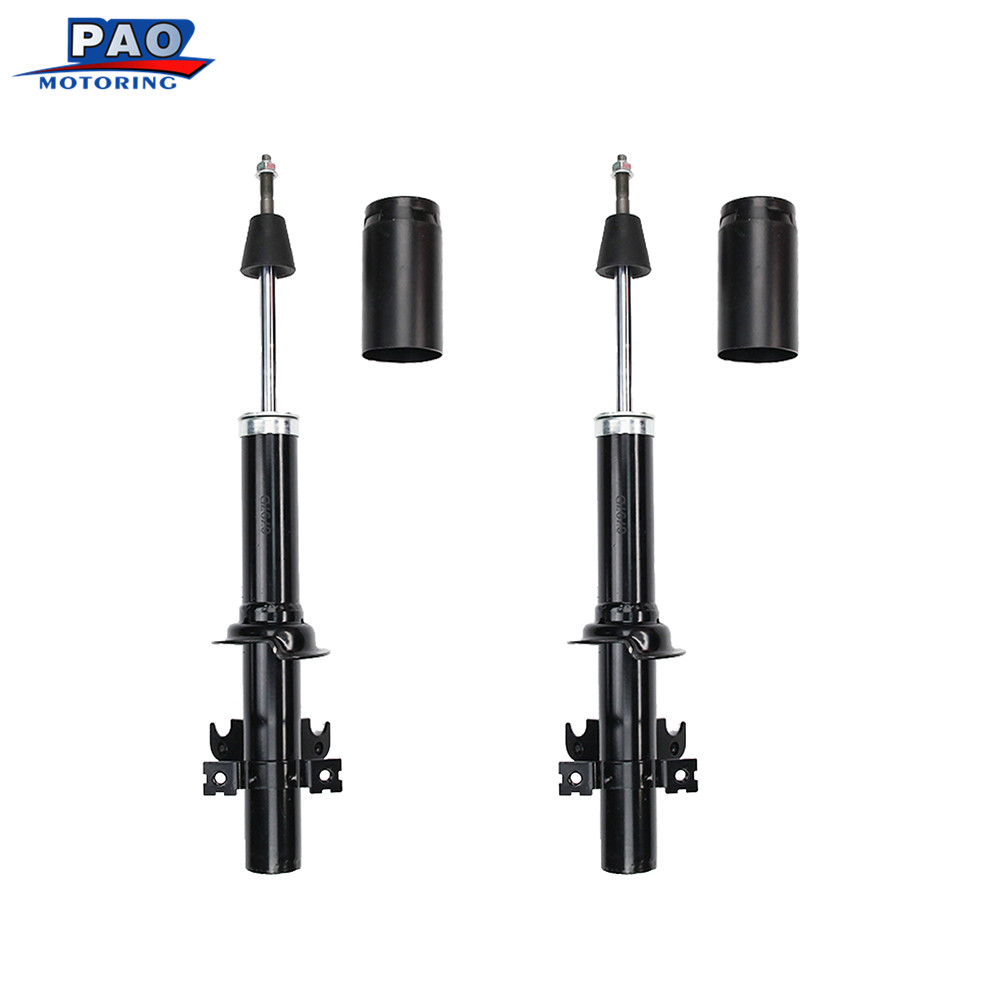 2pc new front strut shock absorber left and right pair set for 1988 1991 honda civic honda crx