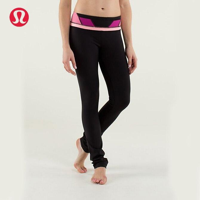 Prix pour Lulu LULULEMON taille multicolore sport yoga pantalon pour les femmes 3 couleurs KZ003