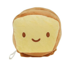 18x9CM 1Pcs Hot Square bread Plush Toys Soft Stuffed Cotton Simulation Bread Plush Dolls Toys for Kids Birthday Christmas Gift