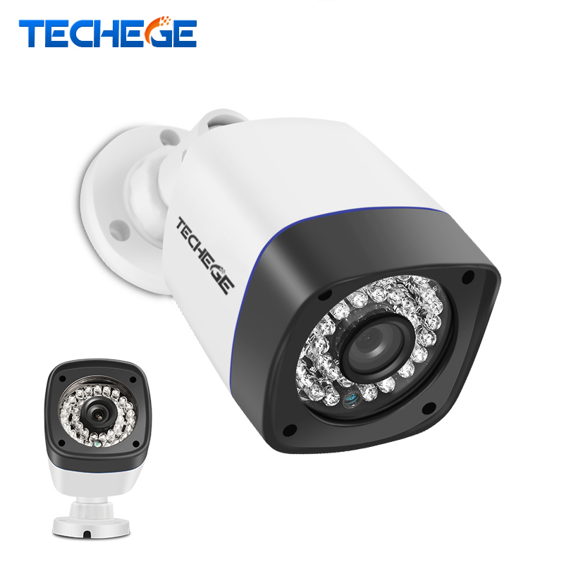 bilder für Techege 1920*1080 2.0mp poe ip-kamera 36 leds ir cut night vision wasserdichte ip66 außen onvif 2,0 motion erkennung xmeye ip Cam