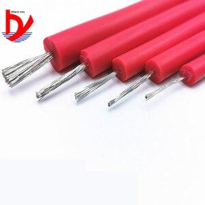 Image 4 - Fio de silicone macio de alta tensão, fio e cabo 25kv 30kv › 18awg 17awg 15awg anti quebra