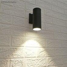 Уличный светильник ing настенные лампы 5 Вт 7 Вт Светодиодный светильник на открытом воздухе COB светодиодный Dia65mm