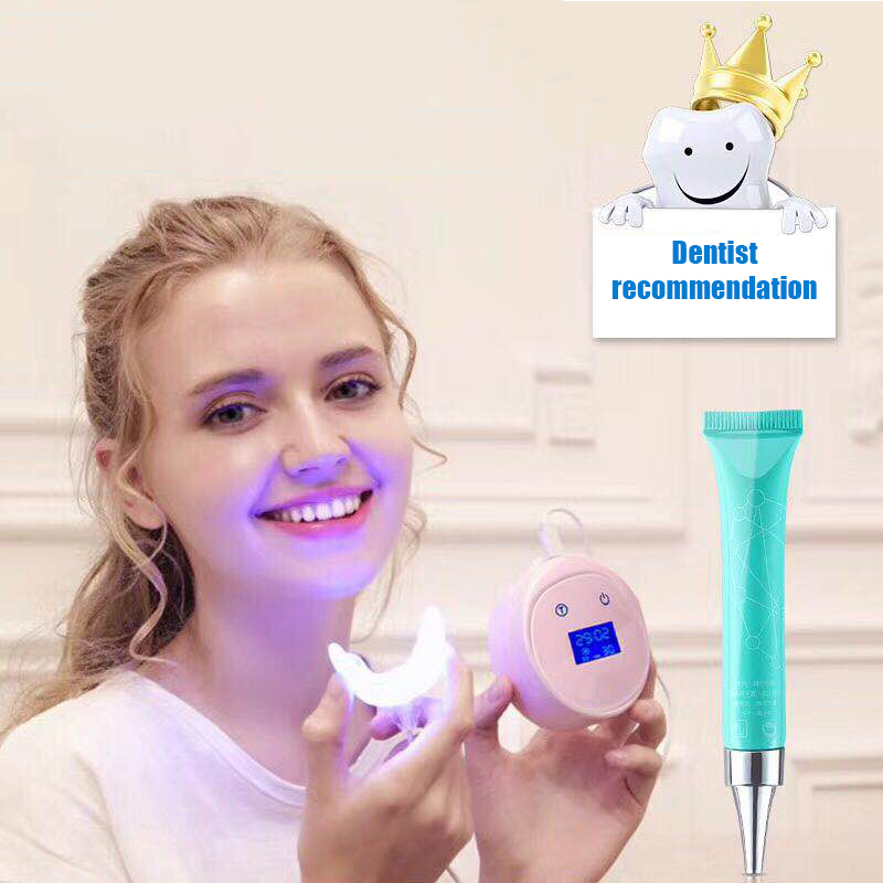 Home Led Teeth Whitening Dental Cleaner Mini LED Light Laser Clean Beauty Instrument Confident Smile Oral Care