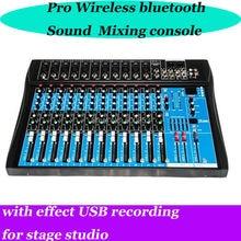 Pro Bluetooth Wireless Karaoke Sound Mixing Console Mixer
