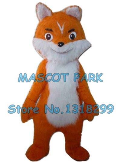 Плюшевый костюм лисы маскота, милый коричневый Лисий персонаж из мультфильма, карнавальный костюм для взрослых, размер 3163