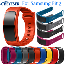L/S Replacement Wristband For Samsung Gear Fit 2 Watch Band Sport Silicone Watchband SM-R360 Strap Bracelet
