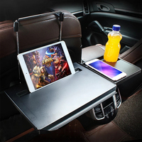 New Car Folding Computer Drawer Dining Table For Volkswagen VW Passat B6 B5 B7 B8 Golf 4 5 7 6 Polo Opel Astra J H Insignia