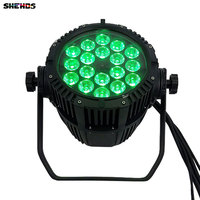 2018 Waterproof LED Par Can 18x12W 4 in 1 RGBW For Dj Disco Effect Lights Outdoor Wedding Party LED Can LED Stage Machine