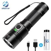 USB rechargeable flashlight 4  lighting mode super bright LED flashlight  use 18650 battery for night lighting, camping, etc. ботинки super mode super mode su013awvjg17