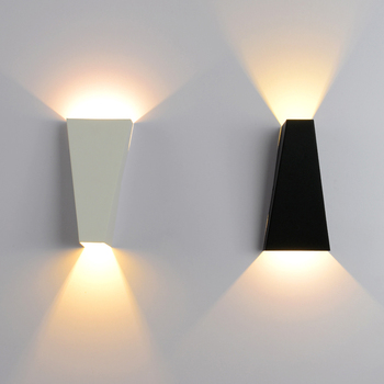 Simple Modern Wall Lamp Metallic Material Creative  Wall Light Modern Home Lighting led wall light Bedroom Art Deco Lighting