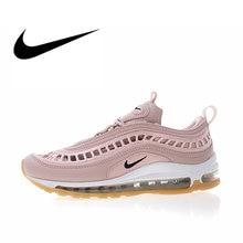size 40 8b233 cf561 Authentique Nike Air Max 97 Ultra  17 SI chaussures de course pour femmes  Sport baskets de plein Air chaussures de Designer athl.