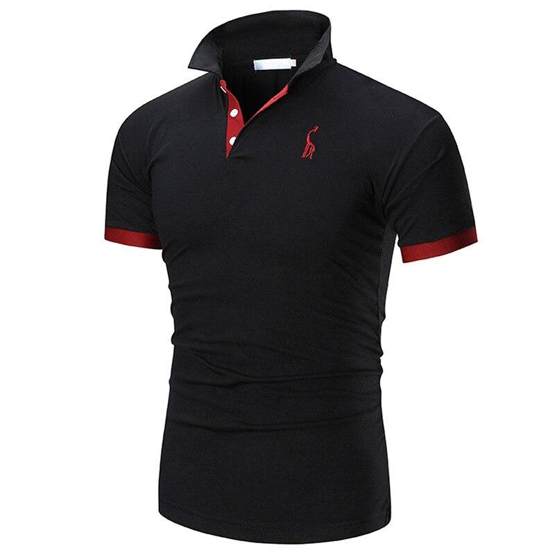2019 Brand New Men's Polo Shirt High Quality Men Cotton Short Sleeve Shirt Brands Jerseys Summer Mens Polo Shirts Top T02