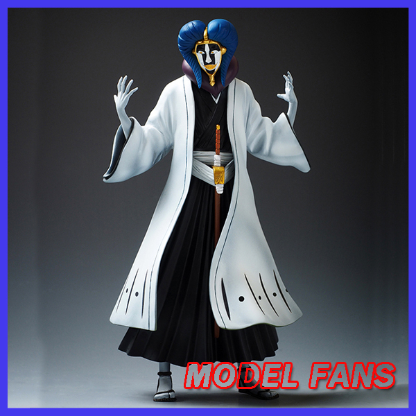 MODEL FANS IN-STOCK AFORCE  20cm BLEACH Kurotsuchi Mayuri GK resin made figure for Collection