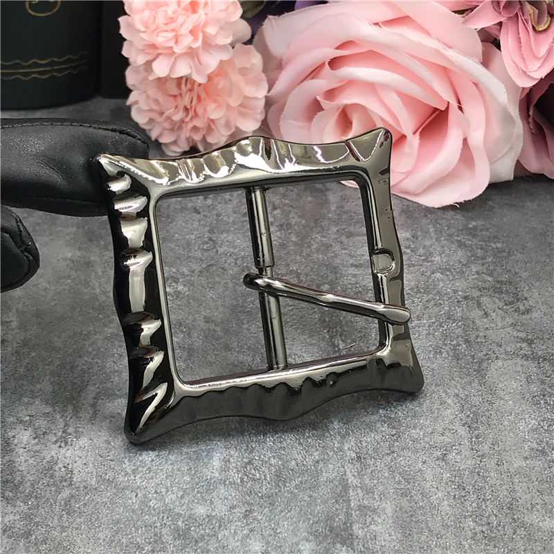 Quality 4.0MM Alloy Pin Metal Belt Buckles For Men Cowboy Belt Buckle For Belt  Leather Belt Men Jeans Accessories AK0088